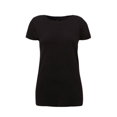 Continental - N09 Womens Regular Fit Round Neck T-Shirt - black