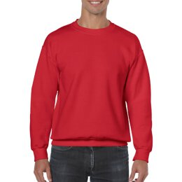 Gildan - 18000 - Heavy Blend Adult Crewneck Sweat - red