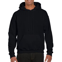 Gildan - 12500 - DryBlend Adult Hooded Sweat - black