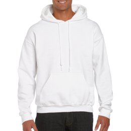 Gildan - 12500 - DryBlend Adult Hooded Sweat - white