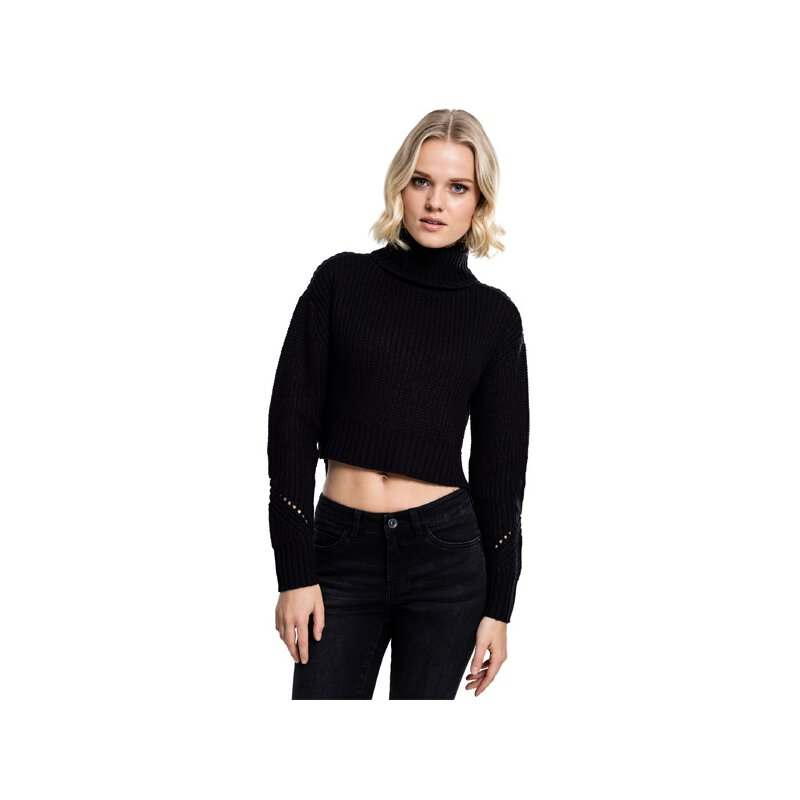 Urban Classics - TB1744 - Ladies HiLo Turtleneck Sweater...