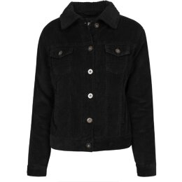 Urban Classics - TB1859 - Ladies Sherpa Cordury Jacket -...