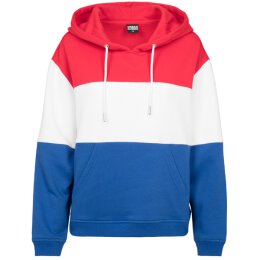 Urban Classics - TB1843 - Ladies Oversized 3-Tone Hoody -...