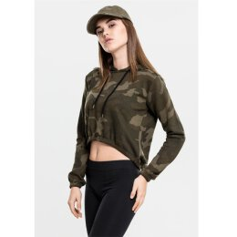 Urban Classics - TB1636 - Ladies Camo Cropped Hoody -...