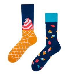 Many Mornings Socks - Ice Cream Dream - Socken