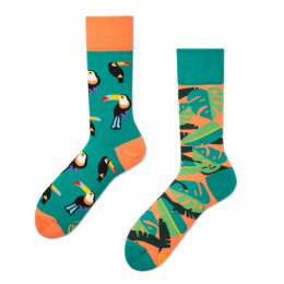 Many Mornings Socks - Tropical Heat - Socken