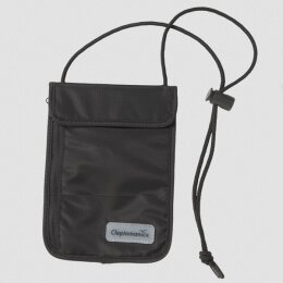 Cleptomanicx - Neck Pouch - Geldbörse - black