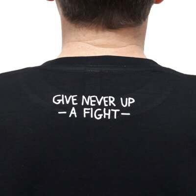 Akne Kid Joe - Give Never Up - Unisex T-Shirt (EP01) - black