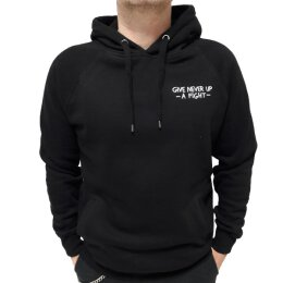 Akne Kid Joe - Give Never Up - Side Pocket Hooded Sweat...