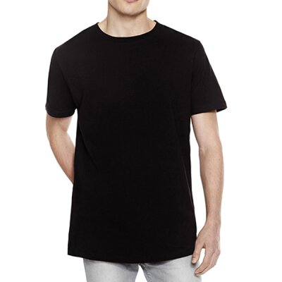 Continental - N07 - Mens Long T-Shirt - black