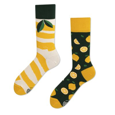 Many Mornings Socks - The Lemons - Socken
