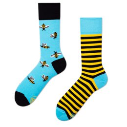 Many Mornings Socks - Bee Bee - Socken