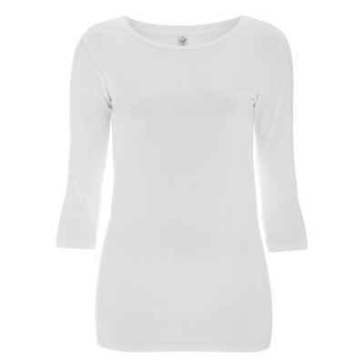 Continental/ Earthpositive - EP07 - Womens stretch 3/4 Sleeve - white