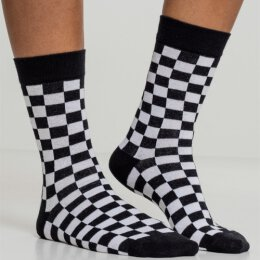 Urban Classics - TB2162 - Checker Socks - 2 Pack -...