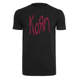Korn - Logo - T-Shirt - black