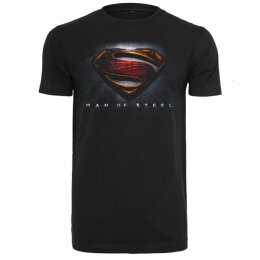 Man Of Steel - Superman - T-Shirt - black