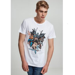 Justice League - Crew - T-Shirt - white
