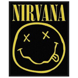 Nirvana - Smiley - Patch