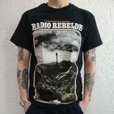 Baboon Show, The - Radio Rebelde - T-Shirt - black