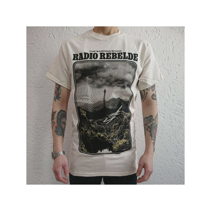 Baboon Show, The - Radio Rebelde - T-Shirt - sand