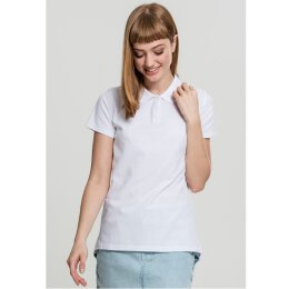Urban Classics - TB1926 - Ladies Wash Polo Tee - white