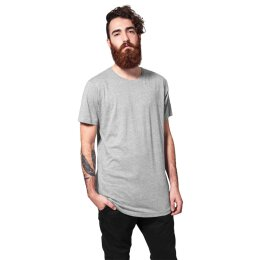 Urban Classics - TB638 - Shaped Long Tee - T-Shirt - grey