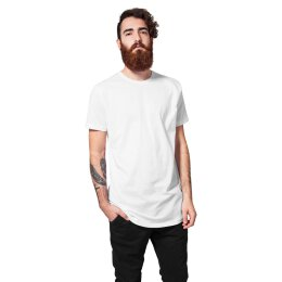 Urban Classics - TB638 - Shaped Long Tee - T-Shirt - white