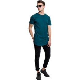 Urban Classics - TB638 - Shaped Long Tee - T-Shirt - teal