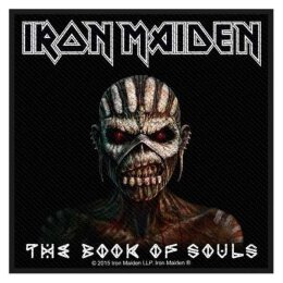 Iron Maiden - Book Of Souls - Patch