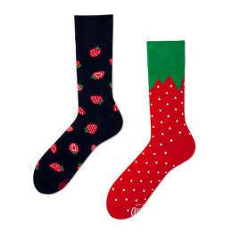 Many Mornings Socks - Strawberries - Socken