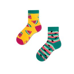 Many Mornings Socks - Watermelon Splash - Kids Socken