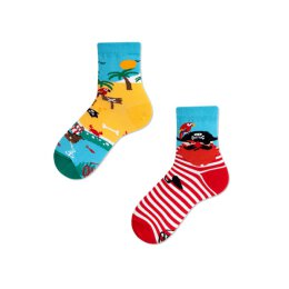 Many Mornings Socks - Pirate Island - Kids Socken