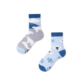 Many Mornings Socks - Polar Bear - Kids Socken
