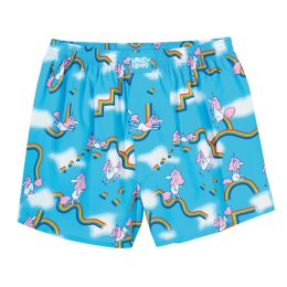 Lousy Livin - Sky Gym - Boxershort - blue atoll