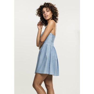 90803140990 Denim Bandeau Dress – Fashion dresses