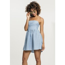 Urban Classics - TB2239 - Ladies Denim Bandeau Dress -...