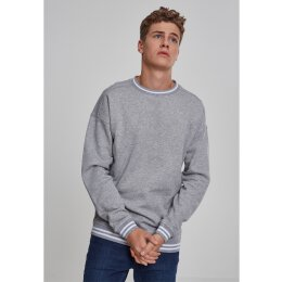 Urban Classics - TB2082 - College Sweat Crew - grey/grey