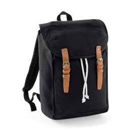 Quadra by Beechfield - QD615 Vintage Backpack - black