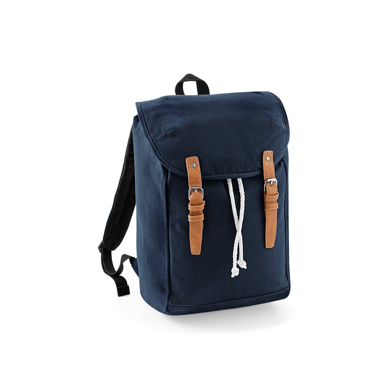 Quadra by Beechfield - QD615 Vintage Backpack - french navy