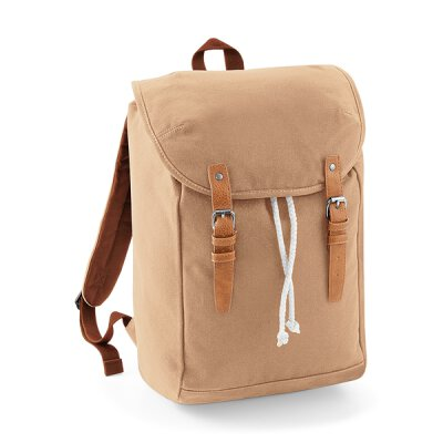 Quadra by Beechfield - QD615 Vintage Backpack - caramel