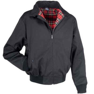Harrington-Style Jacke - black