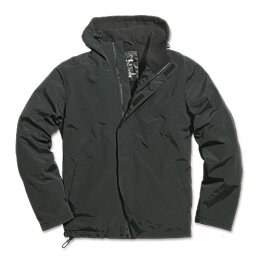Windbreaker Zipper - schwarz