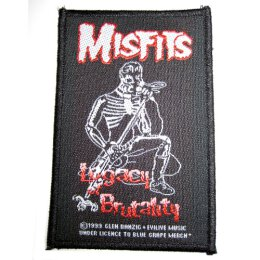 Misfits, the - Legacy Brutality Singer - Patch