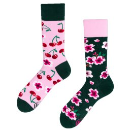 Many Mornings Socks - Cherry Blossom - Socken