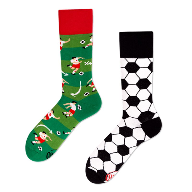 Many Mornings Socks - Football Fan - Socken