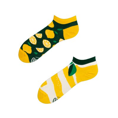Many Mornings Socks - The Lemons Low - Socken