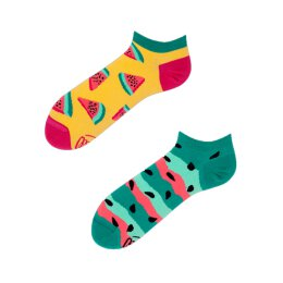 Many Mornings Socks - Watermelon Splash Low - Socken