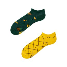 Many Mornings Socks - Pineapples (Ananas) Low - Socken