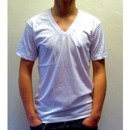 American Apparel - V Neck - White