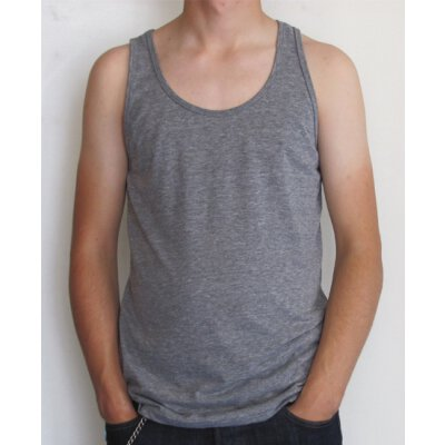 American Apparel - TR408 - Tri Blend Tank - athletic grey